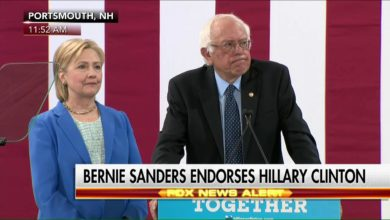 Photo of Bernie Sanders Has (Finally) Endorsed Hillary Clinton