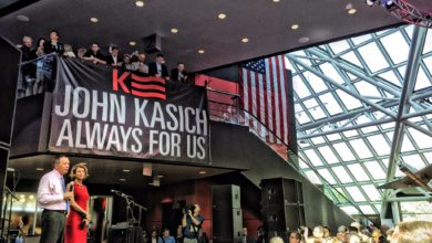 Photo of John Kasich is Everywhere in Cleveland (Except the RNC)