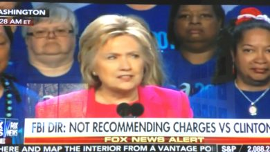Photo of BREAKING:  FBI Director Comey:  FBI Not Recommending Charges For Hillary Clinton