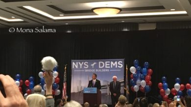 "Photo of Bernie Sanders To NY Delegates: ""Make Sure Hillary is Elected to Defeat Donald Trump"""