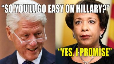Photo of Security Source Details Bill Clinton Maneuver to Meet Loretta Lynch