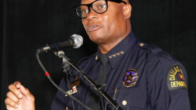 """Photo of Dallas Police Chief:  Sniper """"planned larger attacks on officers"""""""