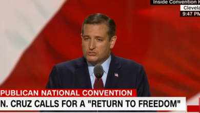 Photo of Cruz Explains Why He Didn't Endorse Trump at the RNC (Just As Reagan Didn't Endorse Ford in 1976)