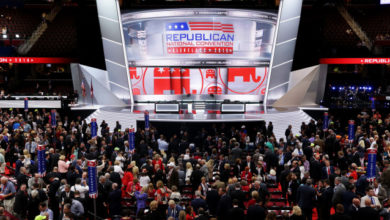 Photo of RNC Kicks Off With Drama on Convention Floor