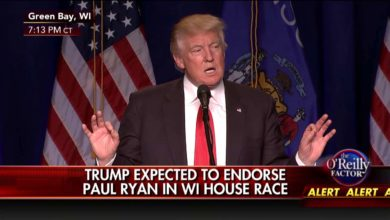 Photo of Donald Trump Endorses Paul Ryan, John McCain and Kelly Ayotte