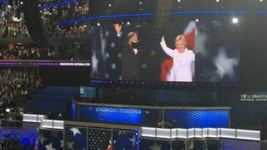Photo of Hillary Clinton Accepts Democratic Nomination, Attacks Donald Trump in Speech