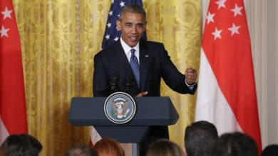 "Photo of President Obama Declares Donald Trump ""Unfit to Serve"""