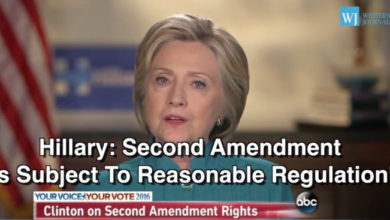 Photo of Hillary Clinton Says ALL Our Rights Are Subject to Regulation