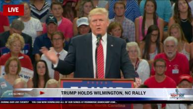 Photo of Donald Trump's Second Amendment Remark Interpreted as Violent Threat Against Hillary