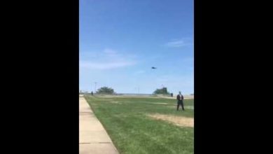 Photo of Donald Trump Makes Grand Arrival by Helicopter for Day 3 of RNC