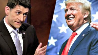 Photo of Donald Trump Withholds Endorsing Paul Ryan, John McCain