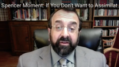 Photo of Robert Spencer:  If You Don't Want to Assimilate, Don't Come.