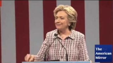 Photo of Hillary's STILL Coughing