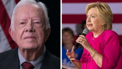 Photo of Jimmy Carter:  Mentor to Hillary on Immigration