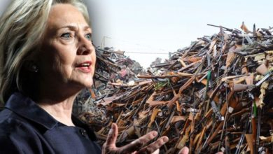 Photo of Hillary's Moronic Gun-Grab to Stop Terrorism