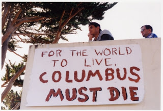 Photo of Daniel Greenfield: The End of Columbus Day is the End of America