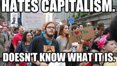 "Photo of The New America: ""Capitalists Are Evil"""