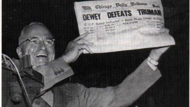 Photo of Party Like It's 1948 (When the Presidential Polls Were Very Wrong)
