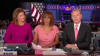 Photo of CBS News Freudian Slip at Final Presidential Debate