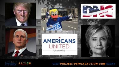 """Photo of Project Veritas Video III of """"Rigging the Election"""" Series: Creamer Confirms Hillary Clinton Was PERSONALLY Involved"""