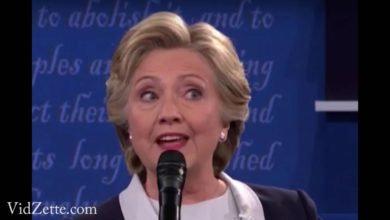 Photo of VIDEO:  Hillary's Eyes Keep Criss-Crossing At Second Debate