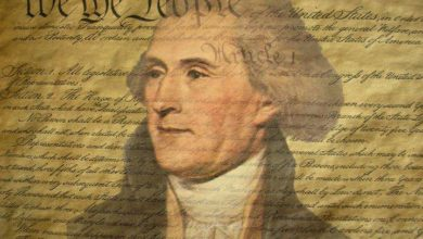 Photo of President of University Founded by Jefferson Asked to Stop Quoting Jefferson.