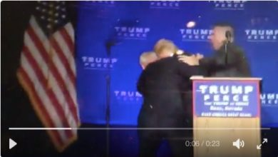 Photo of VIDEO BREAKING: Secret Service Rush Donald Trump Off Stage at Reno Rally