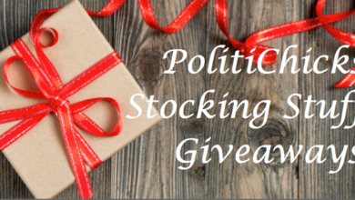 Photo of Twelfth PolitiChicks Stocking Stuffers Giveaway TODAY!