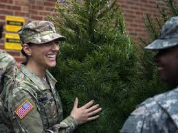 Photo of Hundreds of Military Families Receive Free Christmas Trees for the Holidays