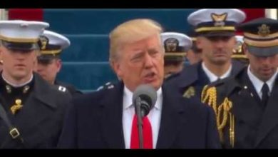 Photo of President Trump's Inauguration Speech Promises To Return Power To The American People