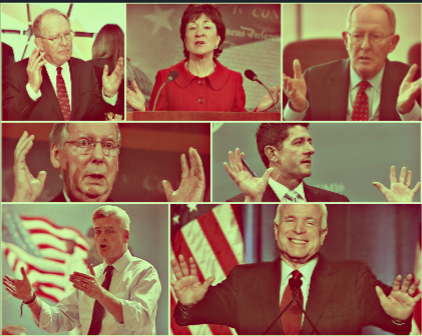 Are Republicans showing their hands?