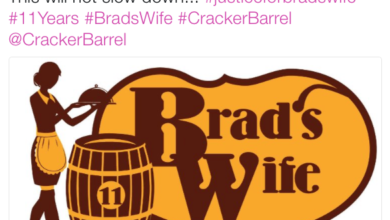 "Photo of HILARIOUS Twitter Posts on @CrackerBarrel After ""Brad's Wife"" is Fired"