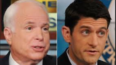 Photo of McCain, Ryan Side With Dems (Again) to Stop Funding Border Wall
