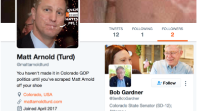 Photo of New Colorado GOP Chairman Linked to Scandalous Email