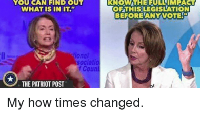 Photo of Ironic Moment of the Century: Pelosi on Healthcare Bill Says We Haven't Had Time to Read the Bill Yet