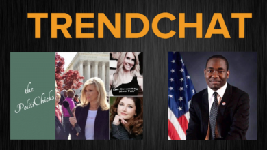 Photo of Brian Bledsoe's TrendChat with The PolitiChicks & Diante Johnson