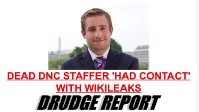 Photo of New Evidence in #SethRich Case: DNC Staffer Was in Contact With Wikileaks Before Murder