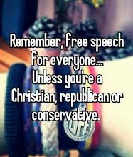 """Photo of Loving """"Free Speech"""" (Unless It's Someone You Hate…)"""