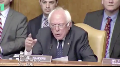 Photo of Bernie Sanders Applies A Religious Test of His Own