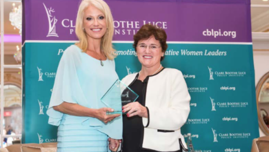 Photo of Kellyanne Conway Presented Woman of the Year Award
