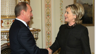 Photo of What a Recording Between Putin & Hillary Might Have Sounded Like