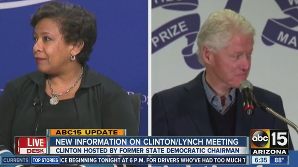 Lynch and Bill Clinton