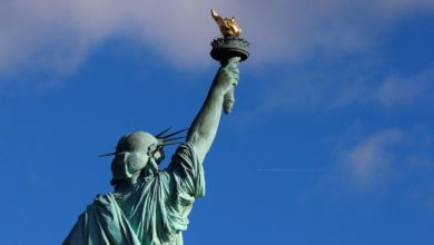 Photo of Lady Liberty Forever Changing American Immigration