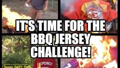 Photo of It's Time For The Football #BBQJerseyChallenge