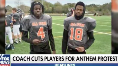 Photo of Not in Texas! Two Teens Thrown Off Team During Game for Taking Knee During Anthem