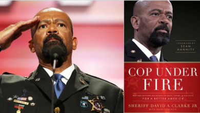 """Photo of Book Review: """"Cop Under Fire"""" by Sheriff David Clarke Jr."""