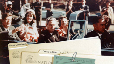 Photo of Intelligence Analyst's Initial Assessment Regarding Released JFK Assassination Documents