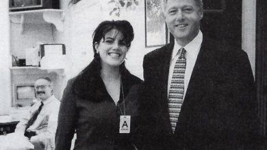 Photo of Monica Lewinsky's HashTag, #MeToo