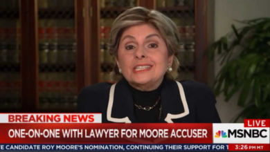 Photo of One Accuser's Claims Against Roy Moore Unravels, Thanks to Gloria Allred