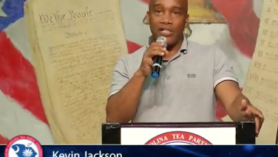 Photo of Kevin Jackson Breaks Down the Snowflakes and Leftists of America #SCTeaParty2018